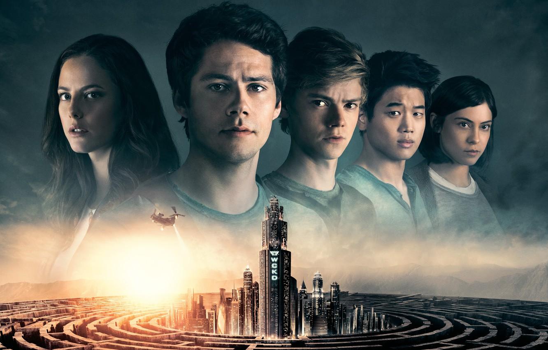 Фото обои City, Action, Beautiful, Girls, The, year, 2018, Death, Helicopter, Thomas, Kaya Scodelario, 20th Century Fox, …