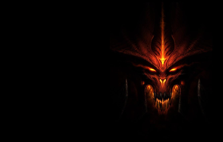 Фото обои фэнтези, арт, Demon, дьявом