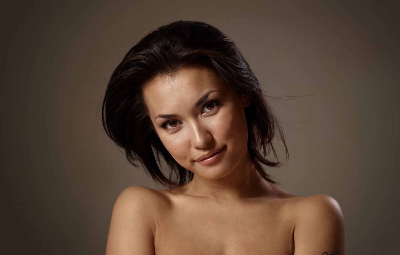 Фото обои взгляд, японка, брюнетка, Maria Ozawa