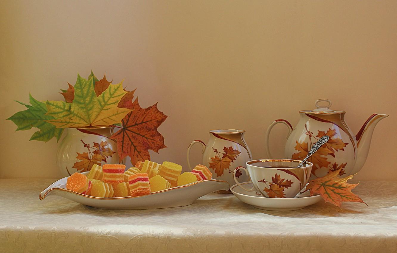 хочется приготовить осенние листья картинки с добрым утром ромашково