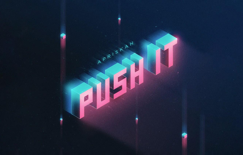 Фото обои Music, Cover, Monstercat, Apriskah, Push It