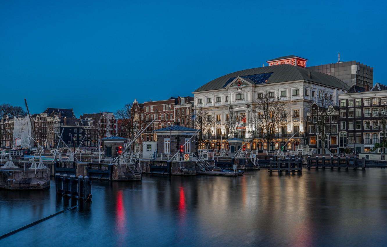 Фото обои Амстердам, Нидерланды, Amsterdam, Голландия