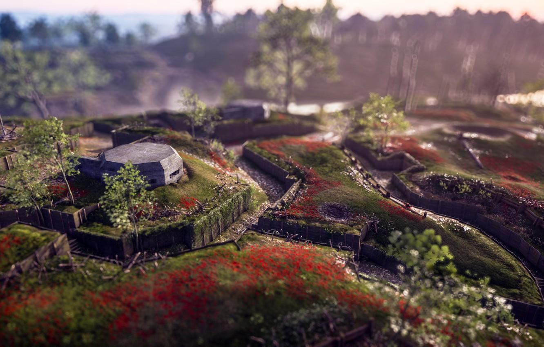 Обои воина, electronic arts, Battlefield 1, окопы. Игры foto 7