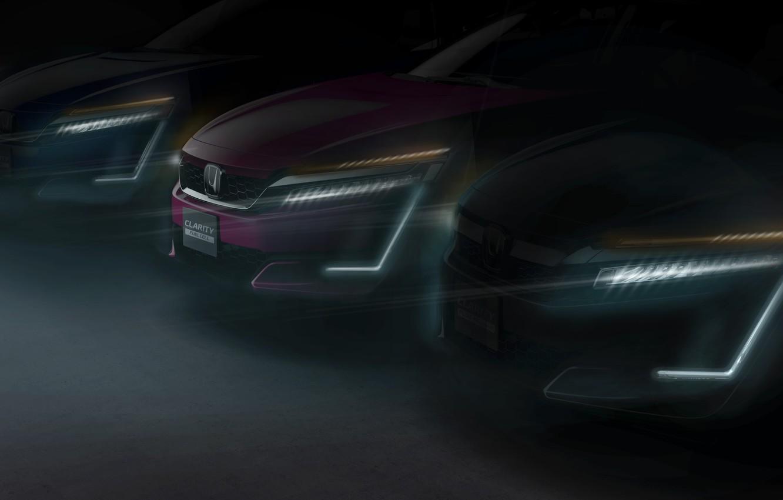 Фото обои car, Honda, New York, speed, Honda Clarity Series, New York International Auto Show, tecnology Clarity