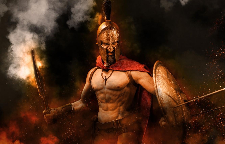 открытки 300 спартанцев для облицовки печей