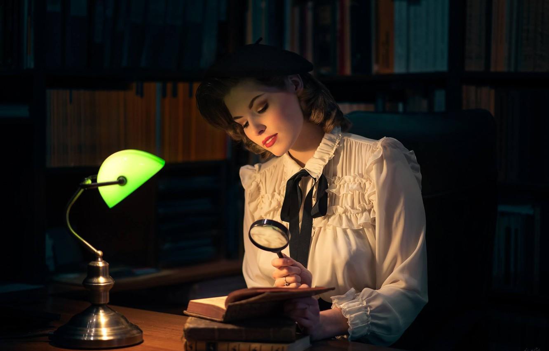 Обои настроение, Девочка, лампа. Настроения foto 10