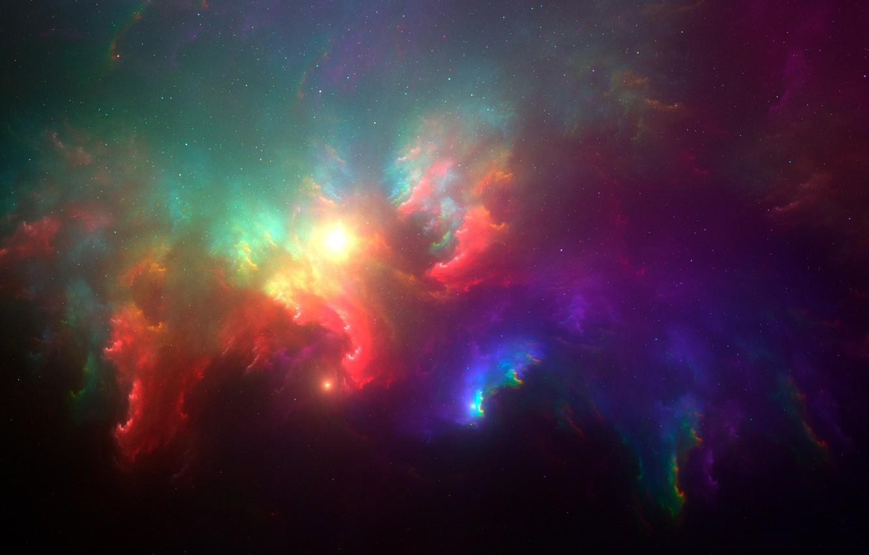 Разноцветные картинки космоса
