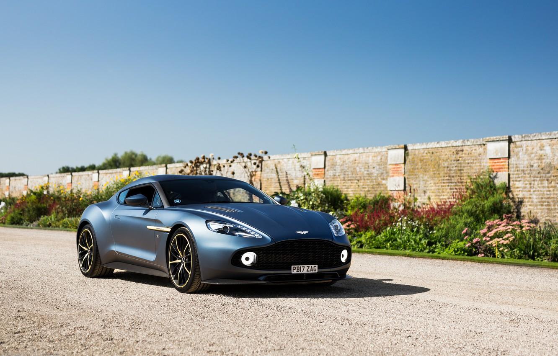 Фото обои Aston Martin, Zagato, Vanquish