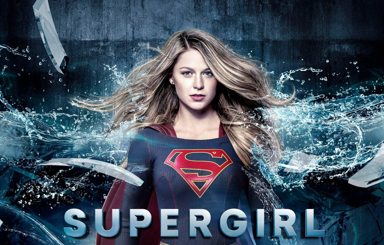 Фото обои red, girl, logo, green eyes, dress, woman, blue, beautiful, singer, blonde, American, actress, DC Comics, …
