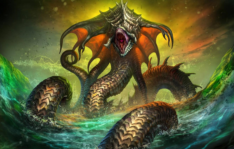 фото морского змея чудовище она