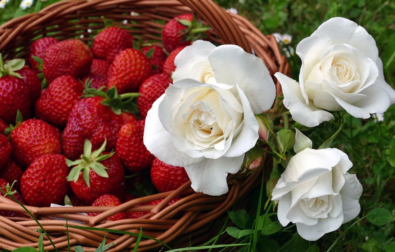 Фотографии красивые цветы и фрукты