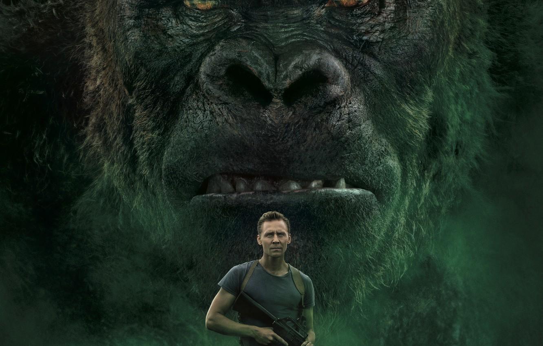 Фото обои Фильм, Movie, Kong: Skull Island, Кинг Конг: Остров Черепа