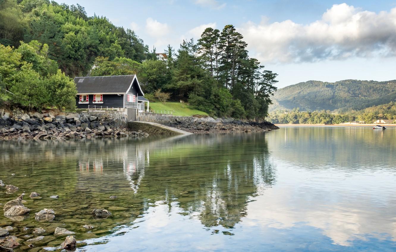 фотографии домик у реки обложке топ-модель позировала