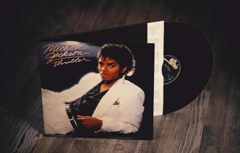 Фото обои Michael Jackson, vinyl, Thriller, RememberWhen