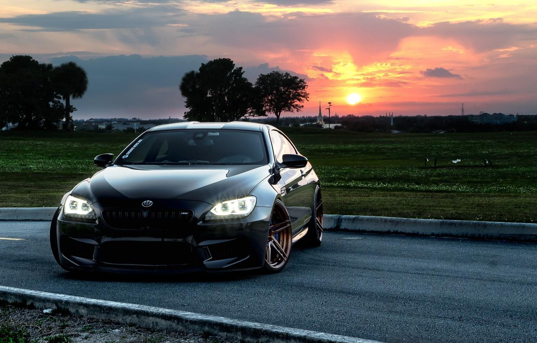 Фото обои BMW, Black, F13