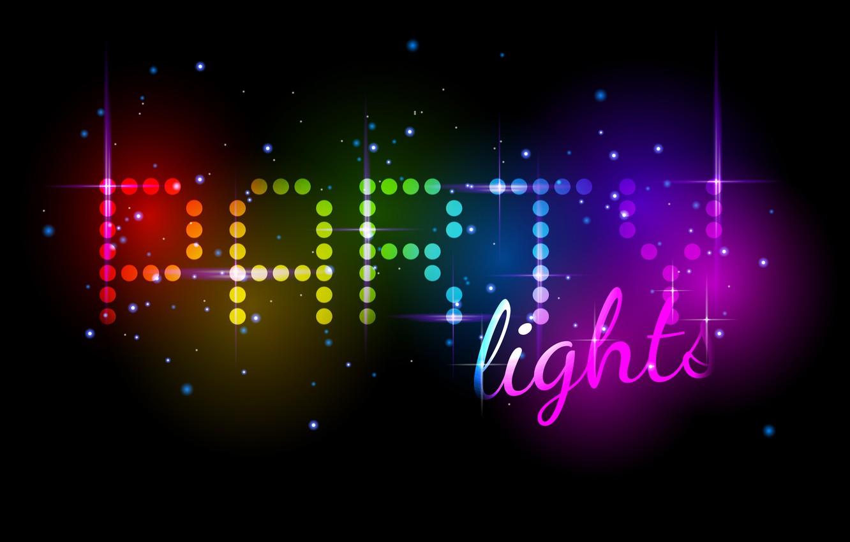 Обои неоновый, Abstract, rainbow, lights, colors, background. Абстракции foto 10