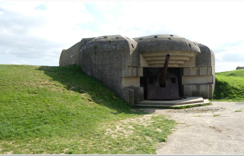 Фото обои gun, normandy, ww2, artillery