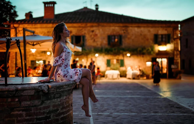 Фото обои платье, ножки, EIKONAS, La Dolce Vita