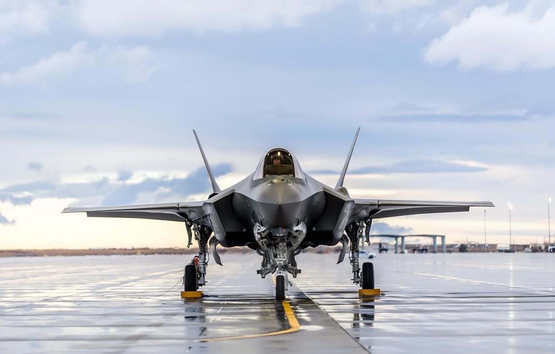 Обои «лайтнинг» ii, F-35, Lockheed, Самолёт. Авиация foto 6
