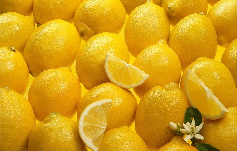 Фото обои цветок, лимон, текстура, Yellow, Texture, Lemons
