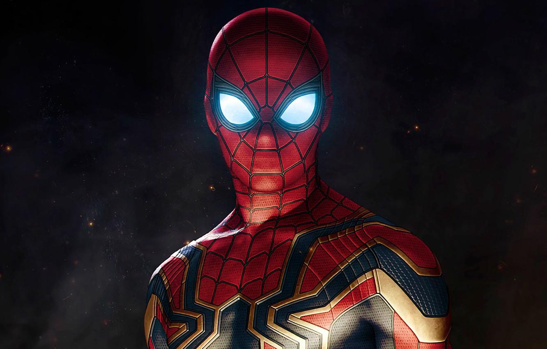 Фото обои Рисунок, Костюм, Актер, Герой, Кино, Маска, Супергерой, Hero, Фильм, Фантастика, Marvel, Spider-man, Человек-паук, Comics, Peter …