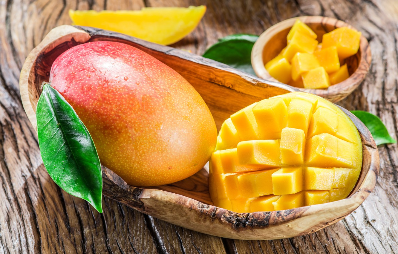 Фото обои доски, фрукт, манго, Fruit
