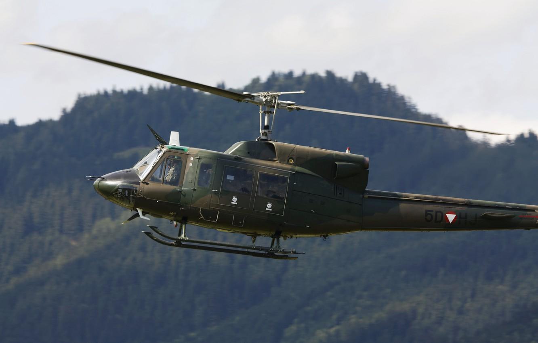 Обои AB-212, Agusta-Bell, транспортный вертолёт. Авиация foto 7