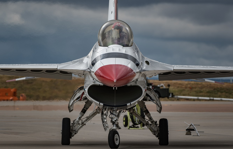 Обои fighting falcon, истребитель, F-16c, кабина. Авиация foto 6