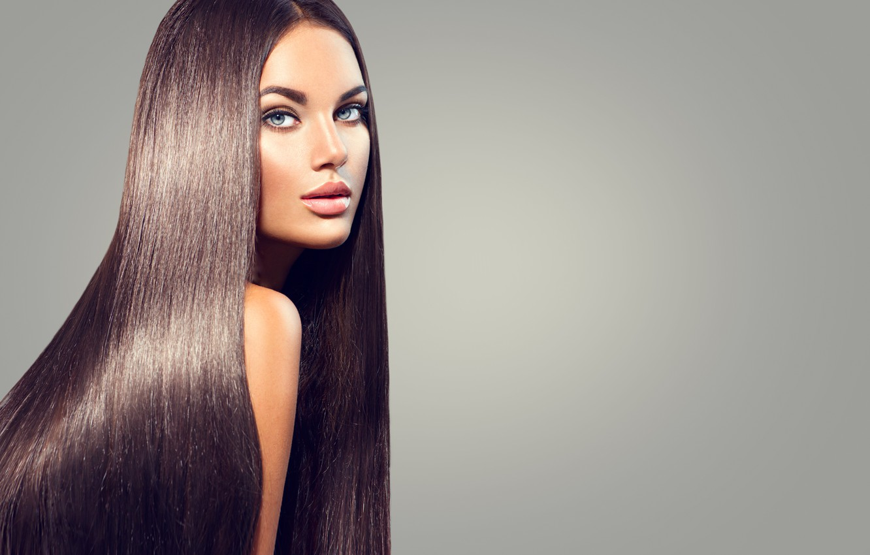 Фото обои model, pretty, hair