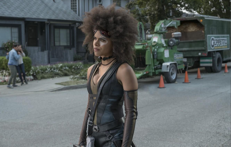 Фото обои Deadpool, Domino, Zazie Beetz