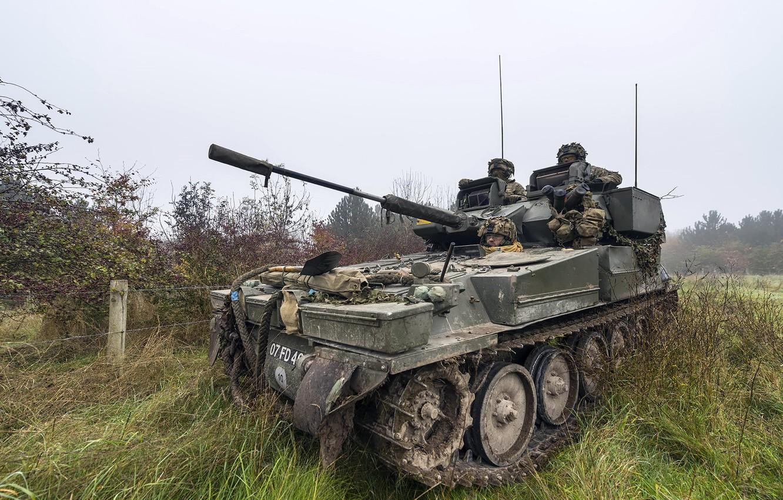 Фото обои оружие, армия, Light Tank, Ex Iron Scout 3