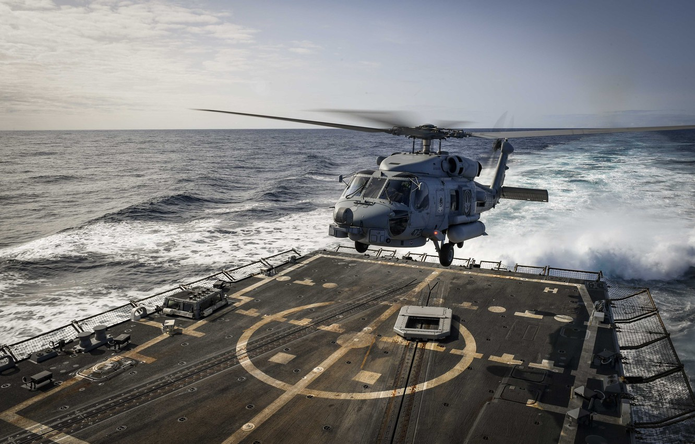 Обои MH-60R, армия, Sea Hawk helicopter. Авиация foto 6