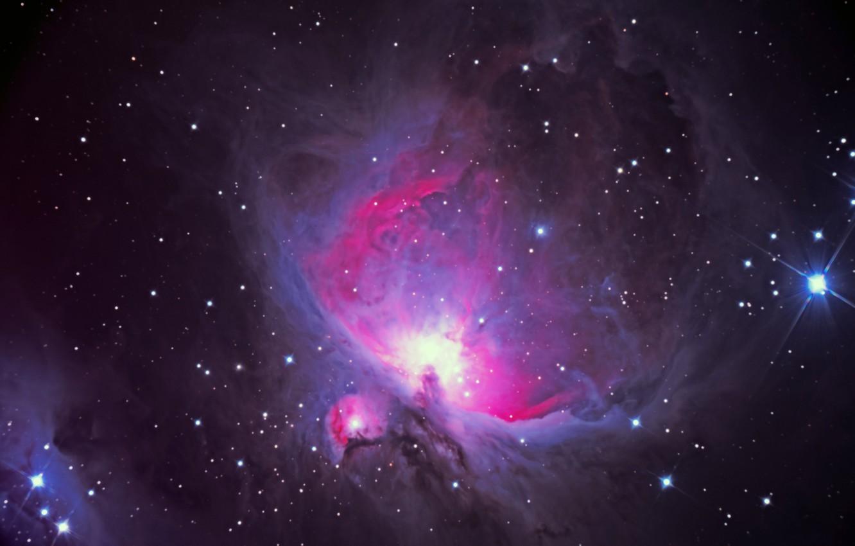 Фото обои Туманность, Ориона, M 42, NGC 1976