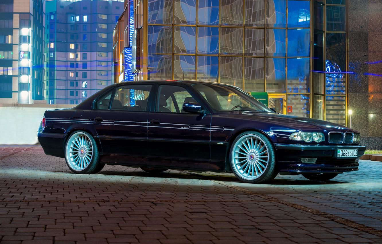 Фото обои BMW, Classic, Legend, Alpina, E38, Almaty, 740Li