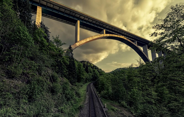 картинки железная дорога мосты забор убрали мест