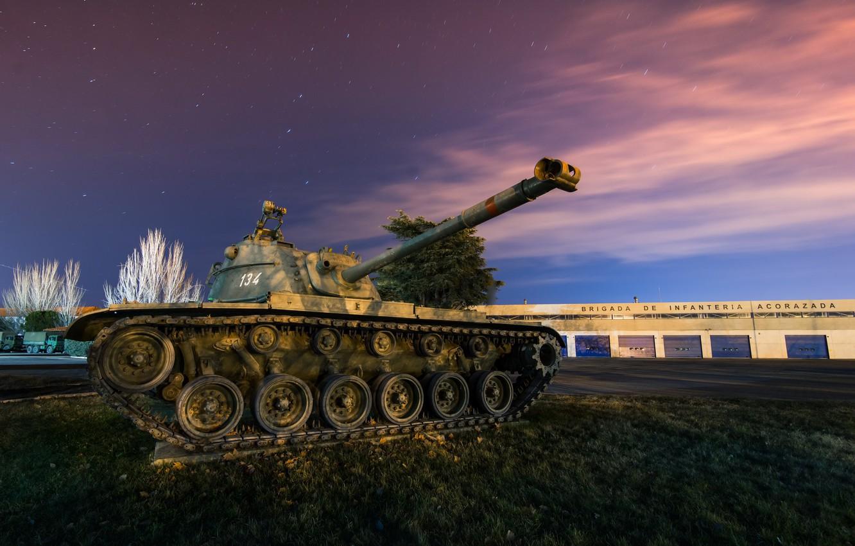 Фото обои армия, танк, M-48