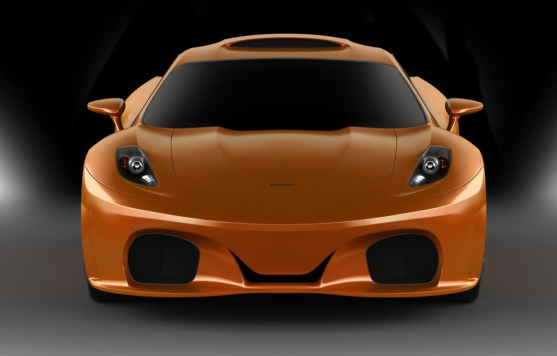 Фото обои оранжевый, orange, Novitec TuLesto