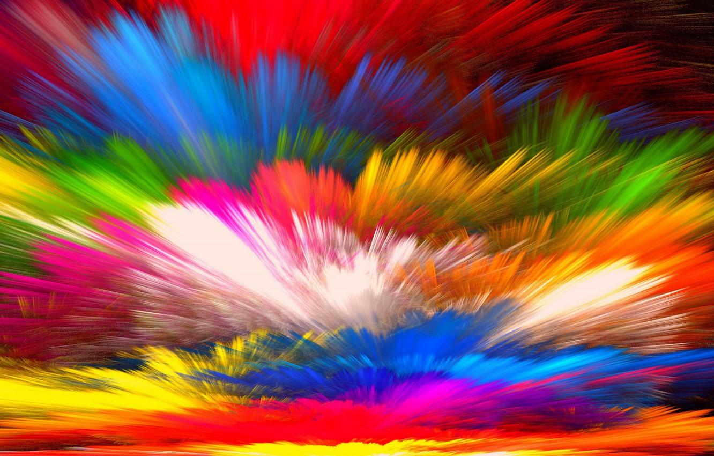 Фото обои фон, краски, colors, colorful, abstract, rainbow, background, splash, painting, bright