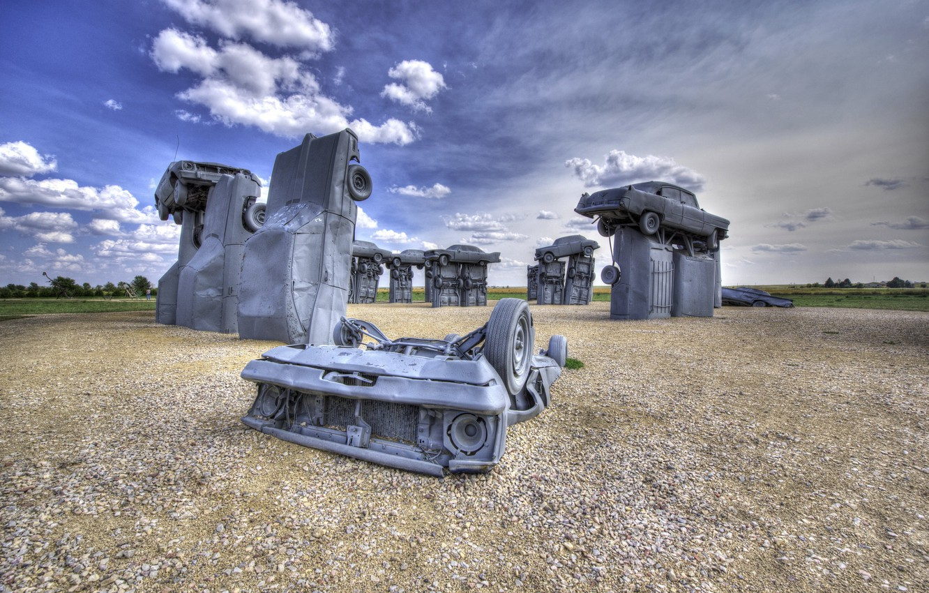 Обои Carhenge near Alliance, Nebraska. Разное foto 6
