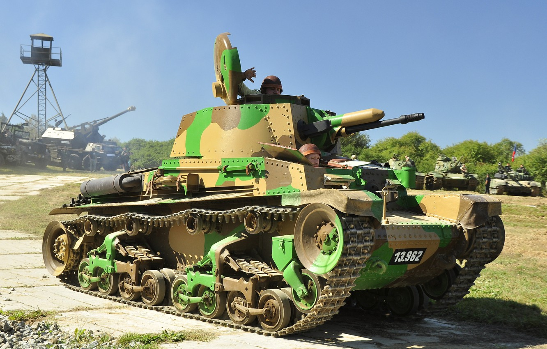Фото обои танк, камуфляж, боевой, Бронетехника