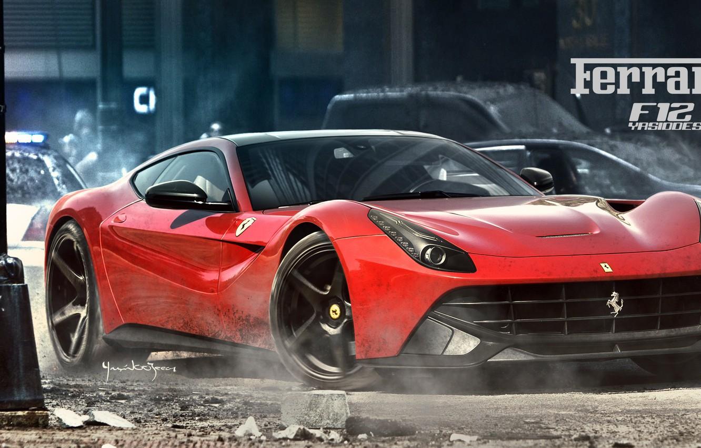 Фото обои car, авто, тюнинг, Ferrari, автомобиль, auto, tuning, F355, Challenge, Yasid Design, Yasid Oozeear