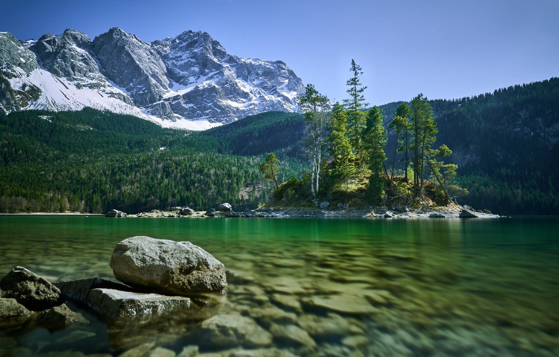 Обои австрия, alps, тироль, austria, tirol, Lake plansee, озеро планзее. Пейзажи foto 13