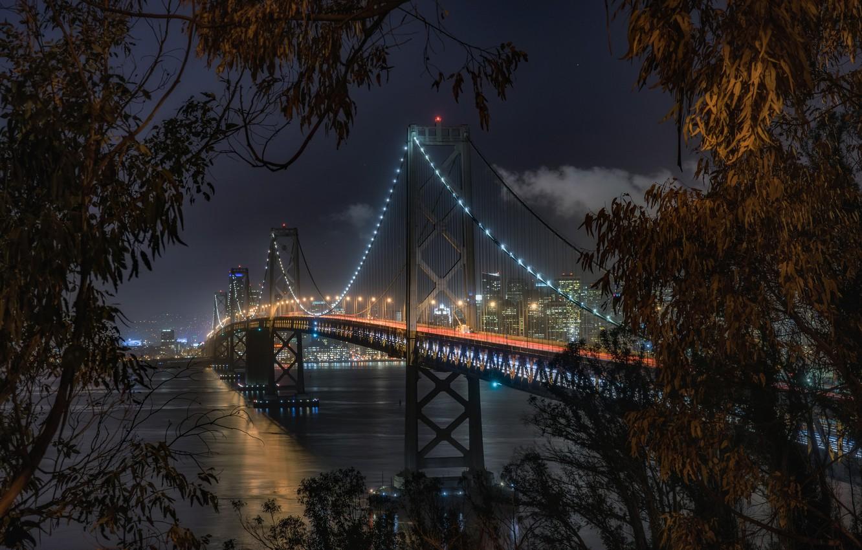 Обои калифорния, bay bridge, san francisco, california. Города foto 16