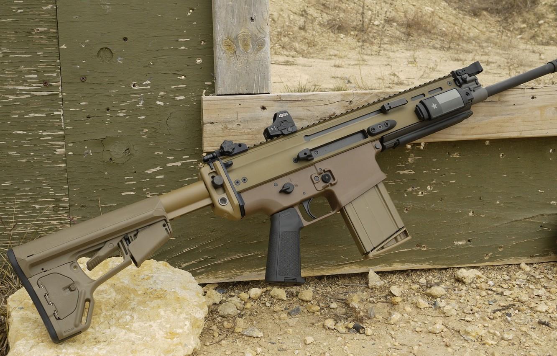 Фото обои оружие, автомат, weapon, custom, штурмовая винтовка, SCAR-H, SCAR, assaul rifle