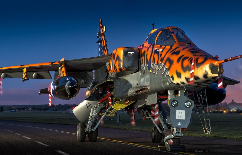 Фото обои Sepecat Jaguar, GR.3A, Sepecat Jaguar GR.3A