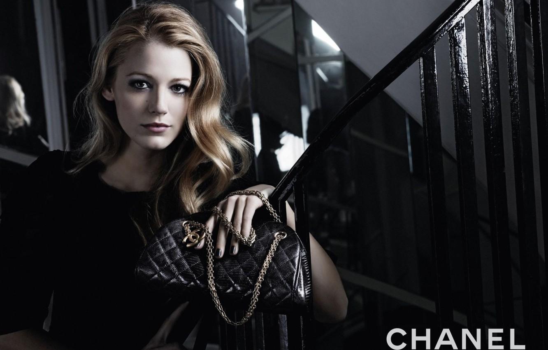 Фото обои девушка, стиль, модель, сумка, бренд, Chanel