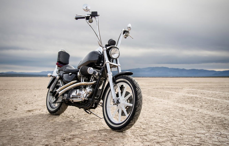 Фото обои стиль, мотоцикл, байк