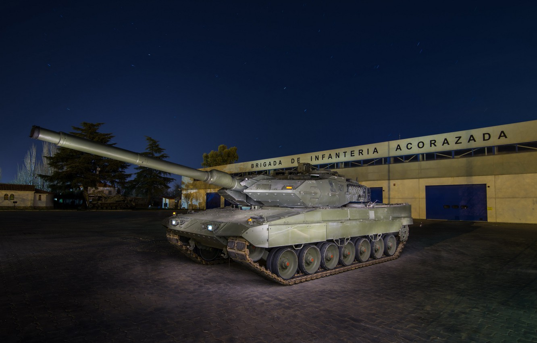Фото обои армия, танк, Leopard 2A6