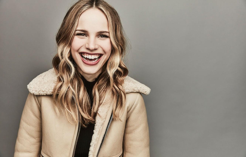 Фото обои улыбка, актриса, Halston Sage