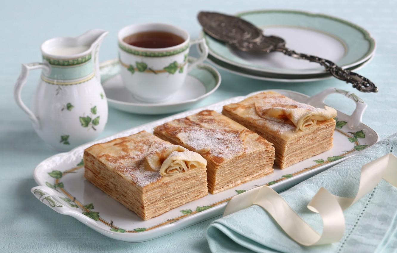 Картинки с чаем и пирожным